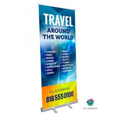 Retractable Banner 33 x 80