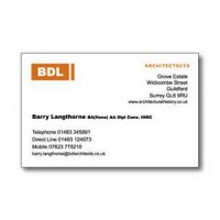 Raised Printed Business Card